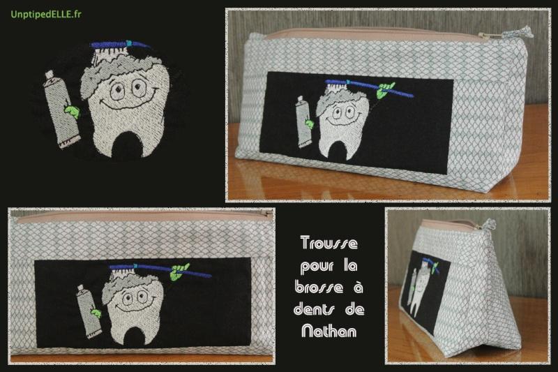 Trousse pour brosse à dent