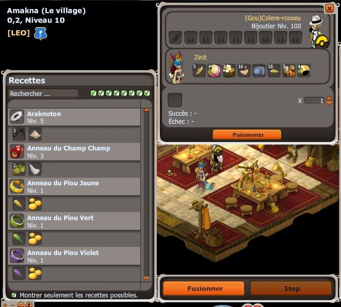 Bug] Craft anneau Vae manquant : FORUM DOFUS : Forum de discussion du ...