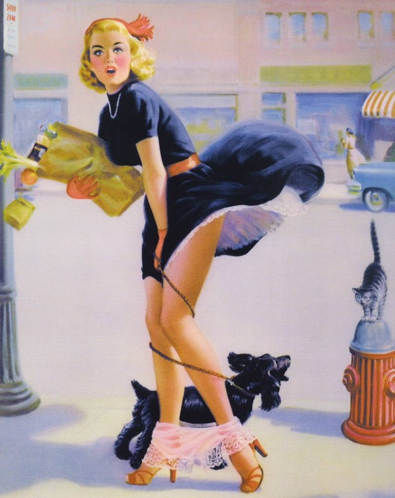 Image result for art frahm pin up