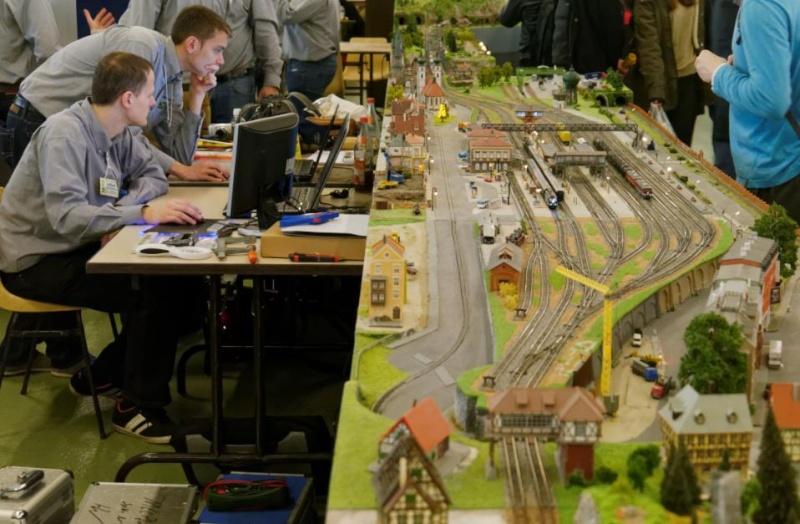 14 me salon du train miniature orl ans les 8 9 novembre for Salon du train miniature