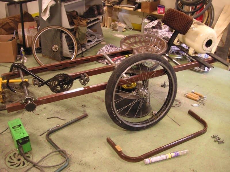 Rubrique les velos a 3 roues - Comment fabriquer une caisse a savon facilement ...