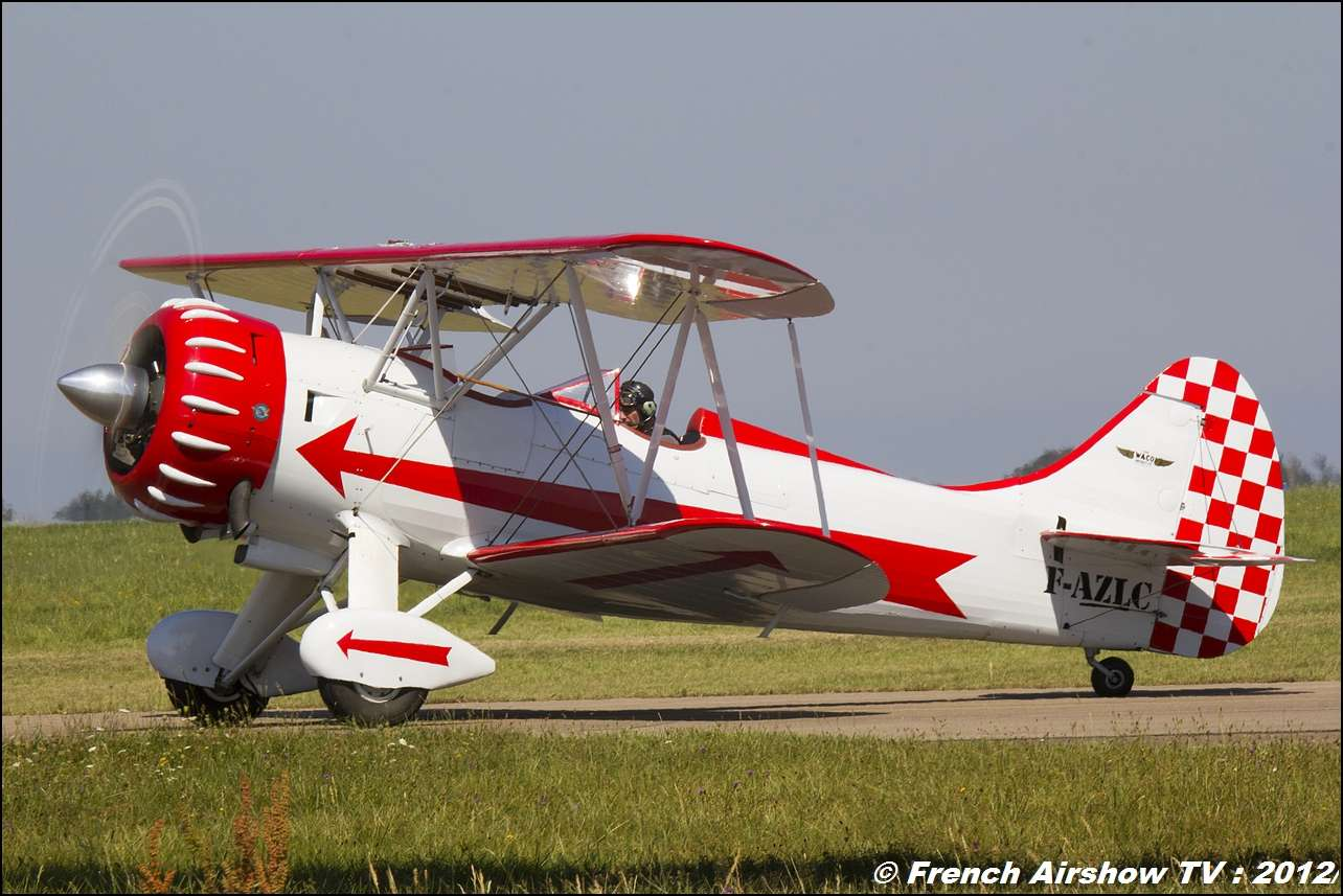 Waco F-AZLC Meeting Roanne 2012