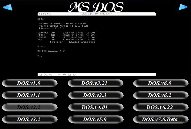 Old microsoft operating systems viejos sistemas operativos