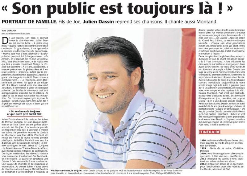 Julien Dassin presse