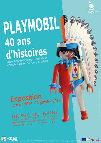 Exposition Playmobil Fanny et Olivier 40 ans musée du jouet de moirans en montagne