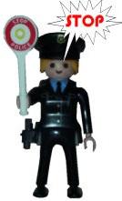 police playmobil fanny et olivier