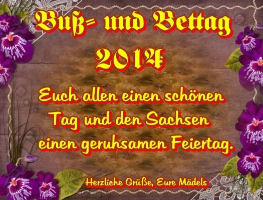 Feiertag Buß Und Bettag Bayern