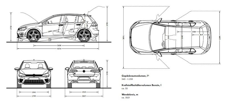 golf 7 r r variant sw version commerciale 1 1. Black Bedroom Furniture Sets. Home Design Ideas