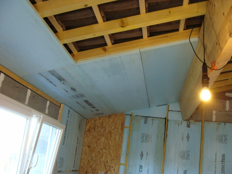 Isolation atelier garage page 2 - Isolation plafond garage plaque polystyrene ...