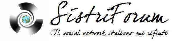 SistriForum - Il social network italiano sui rifiuti
