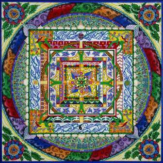 Mandalas de sable - Mandala les plus beau du monde ...