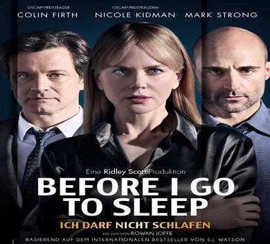 فلم Before I Go to Sleep 2014 مترجم بجودة HDRip