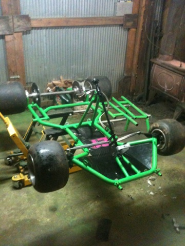 Can Someone Help Me Find Year Model Of My Kart Chassis