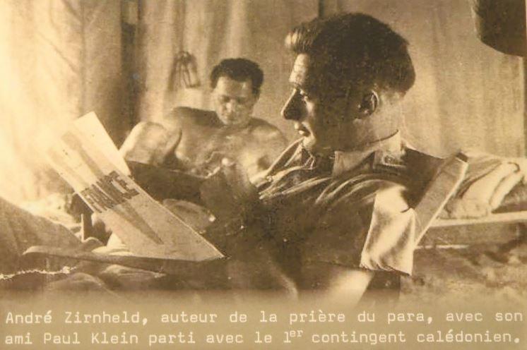André ZIRNHELD 1er officier français mort au champa d'Honneur 1942