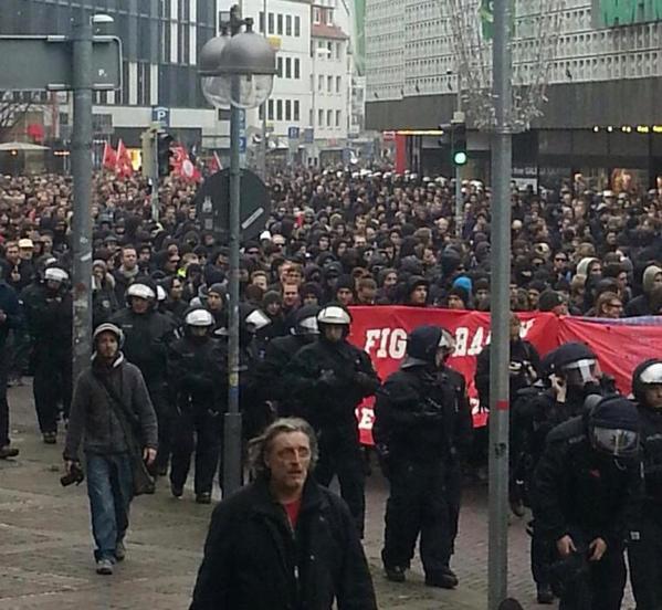 Grosse mobilisation antifasciste le 15 novembre à Hanovre.