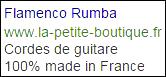 cordes de guitare flamenco rumba