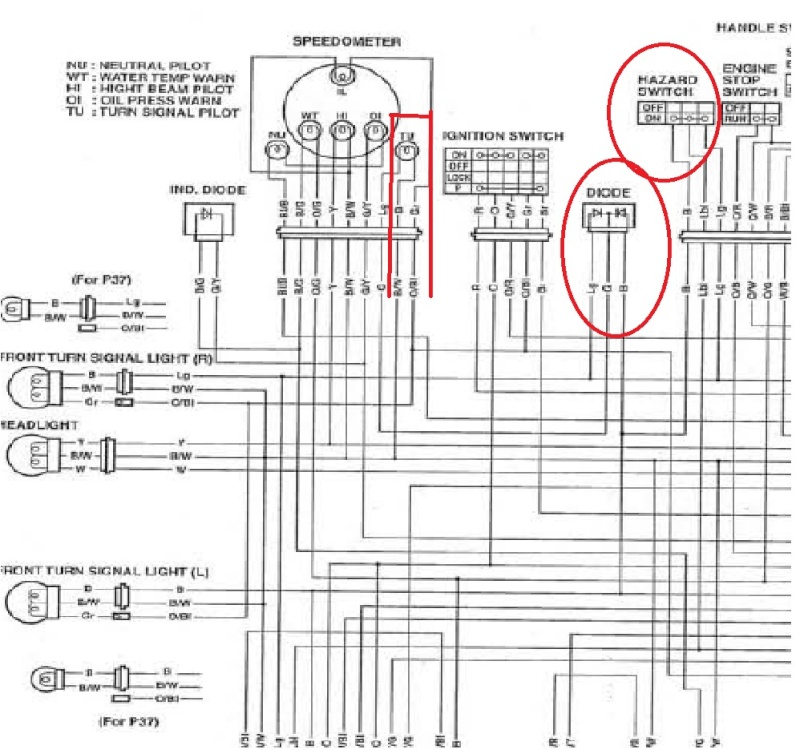 Hazzard Wiring Diagram additionally Fuse Block Wiring Diagram moreover  on 2002 mitsubishi lancer oz rally wiring diagram
