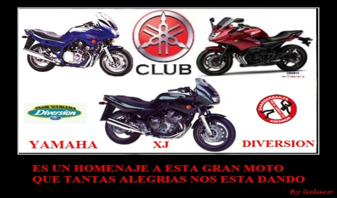 CLUB YAMAHA XJ DIVERSION