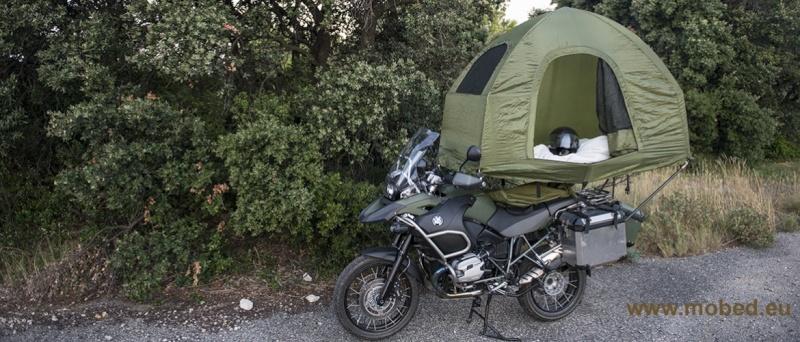 quelle tente pour voyager en moto. Black Bedroom Furniture Sets. Home Design Ideas