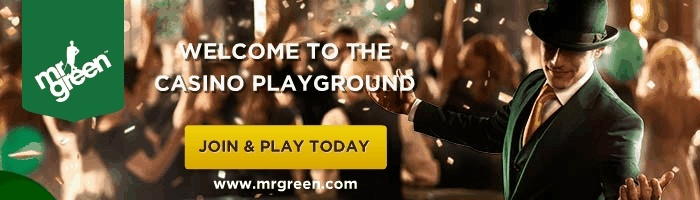 Mr Green welcome free spins