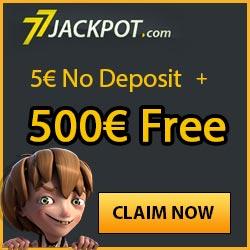 77 Jackpot no deposit