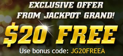 Jackpot Grand free spins