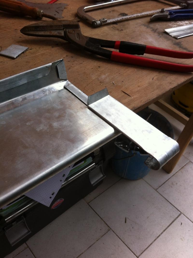 Fabrication un toit de roulotte de boh me page 2 - Comment faire un toit en zinc ...