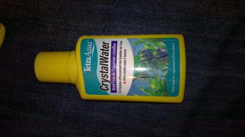 Produit utilisé contre l'eau trouble sans résultat