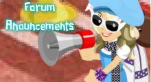 Forum Announcements